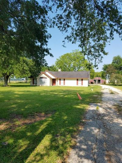 Crosby Single Family Home For Sale: 17918 Fm 2100 Road