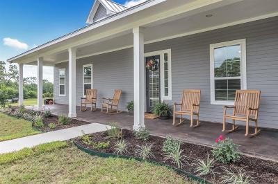 Navasota Single Family Home Option Pending: 900 Harlan Road