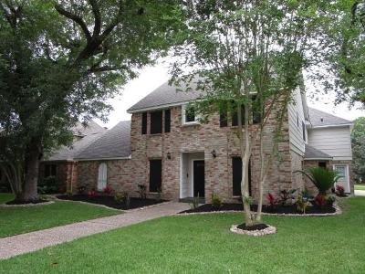 Katy Single Family Home For Sale: 1627 Hannington Drive