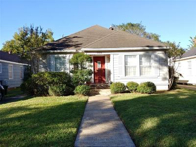 Houston Single Family Home For Sale: 2434 Goldsmith Street