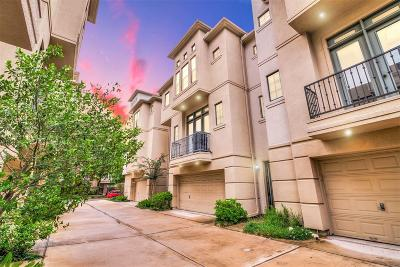 Houston Condo/Townhouse For Sale: 2905 Chenevert Street #B