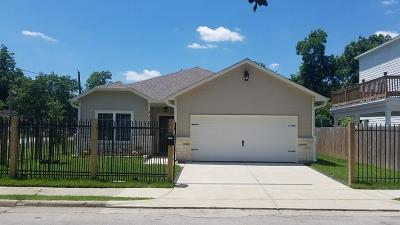 Houston Single Family Home For Sale: 4322 Gregory Street