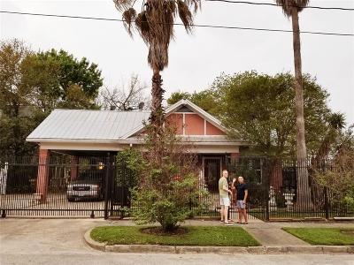 Houston Single Family Home For Sale: 2504 Mason Street
