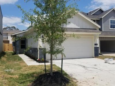 Conroe Single Family Home For Sale: 116 Camelot Place Court