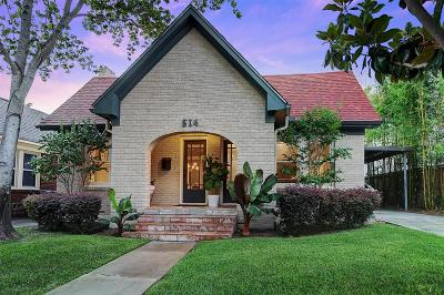 Houston Single Family Home For Sale: 514 W Saulnier Street