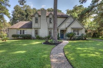 Houston Single Family Home For Sale: 7811 Bideford Lane