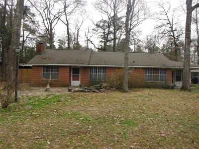 Conroe TX Single Family Home For Sale: $169,900