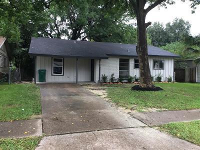 Pasadena Single Family Home For Sale: 3811 Ramsey Drive