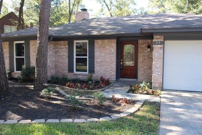 The Woodlands Single Family Home For Sale: 77 N Deerfoot Circle Circle