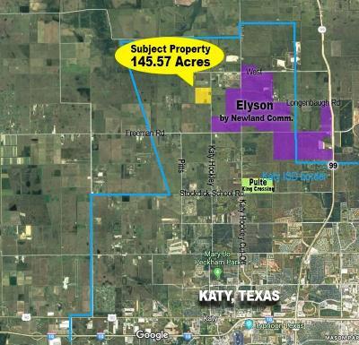 Katy Farm & Ranch For Sale: Longenbaugh Road