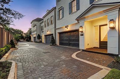 Afton Oaks Single Family Home For Sale: 2905 Mid Lane #C