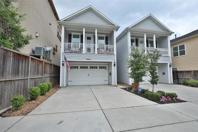 Galveston County, Harris County Single Family Home For Sale: 5718 Cornish Street #B