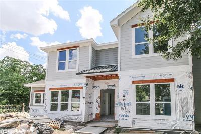 Houston Single Family Home For Sale: 6703 Schiller Street