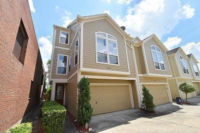 Houston Condo/Townhouse For Sale: 3123 Dallas Street