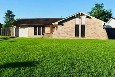 Houston Single Family Home For Sale: 12103 Ryewater Drive