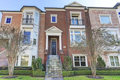 Sugar Land Condo/Townhouse For Sale: 1326 Lake Pointe Parkway