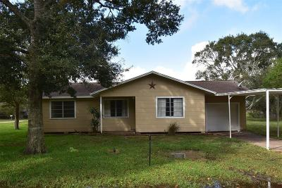 Bay City TX Single Family Home For Sale: $132,500