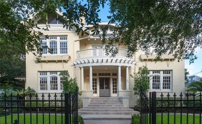 Houston Single Family Home For Sale: 3618 Burlington Street