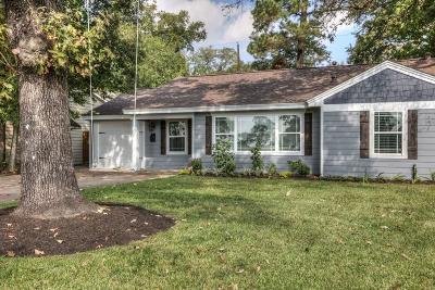 Houston Single Family Home For Sale: 1514 Du Barry Lane