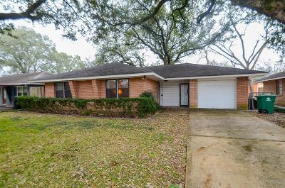Houston TX Single Family Home For Sale: $219,900