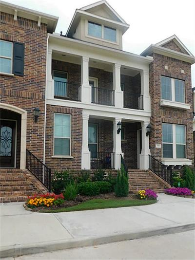 Sugar Land Condo/Townhouse For Sale: 518 Imperial Boulevard