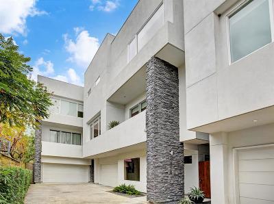 Houston Single Family Home For Sale: 1811 Branard Street #B