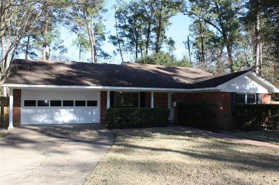 Conroe Single Family Home For Sale: 110 S Delmont Drive E