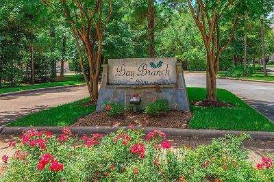 The Woodlands Condo/Townhouse For Sale: 8051 Bay Branch Drive #133