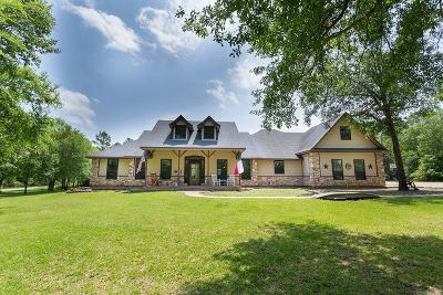 Montgomery Single Family Home For Sale: 27231 Mock Lane