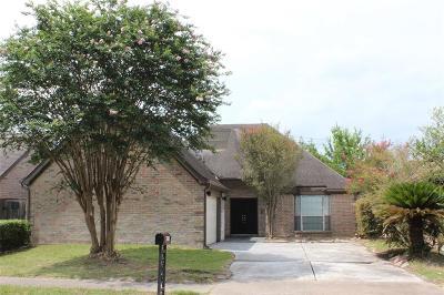 Houston TX Single Family Home For Sale: $186,900