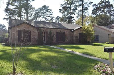 Spring Single Family Home For Sale: 25503 Wingfield Lane