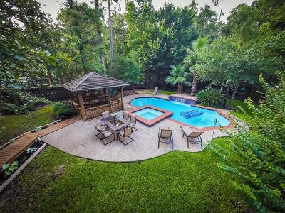 The Woodlands Single Family Home For Sale: 123 N Acacia Park Circle N