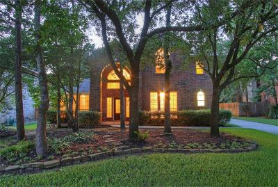 The Woodlands Single Family Home For Sale: 122 N Westwinds Circle