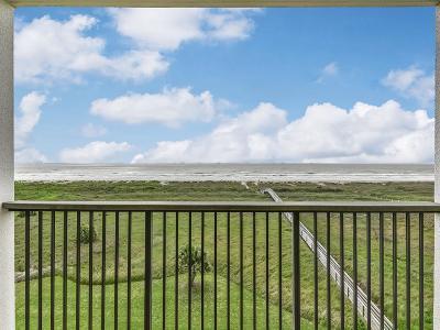 Galveston Mid/High-Rise For Sale: 415 E Beach Drive #409
