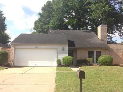 Missouri City Single Family Home For Sale: 3639 Palm Grove Drive