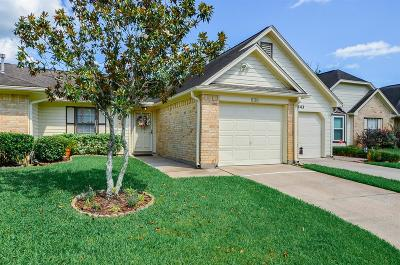 Pearland Condo/Townhouse For Sale: 639 E Country Grove