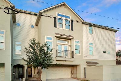 Houston Condo/Townhouse For Sale: 2904 Cornell Street