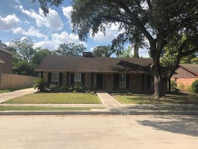 Houston Single Family Home For Sale: 5026 Lymbar Drive