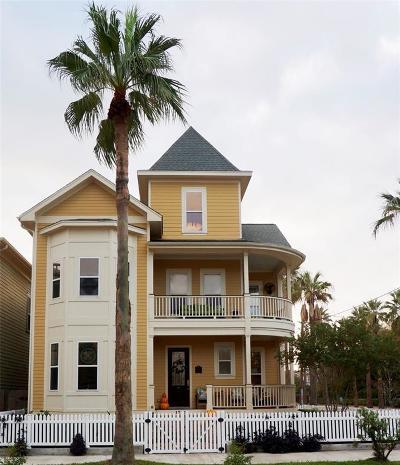 Galveston Single Family Home For Sale: 1701 25th Street