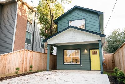 Houston Single Family Home For Sale: 7316 Sherman Street