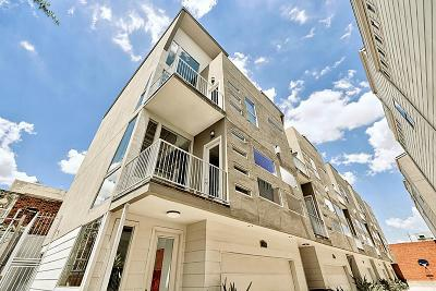 Houston Condo/Townhouse For Sale: 914 Hutchins Street