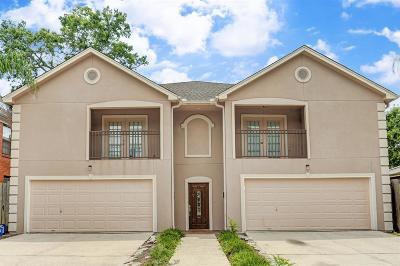 Houston Multi Family Home For Sale: 3228 Calumet Street
