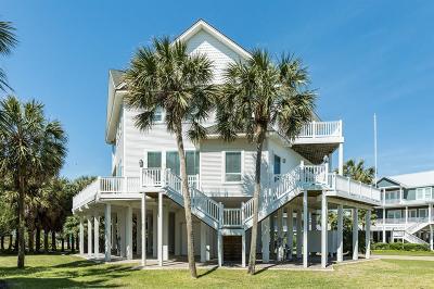 Galveston Single Family Home For Sale: 4202 Turks Point