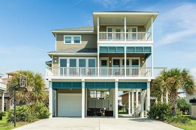 Galveston Single Family Home For Sale: 4111 Pirates Drive