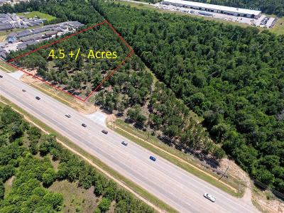 Conroe Residential Lots & Land For Sale: 4.5 Acres N Loop 336 E