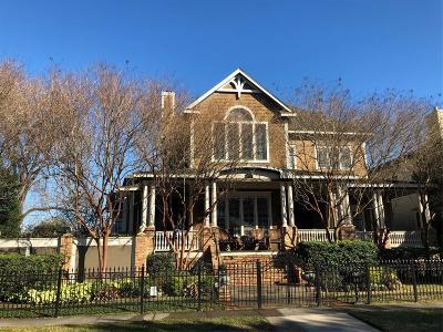 Houston Single Family Home For Sale: 1536 Rutland Street
