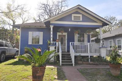 Houston Single Family Home For Sale: 2505 Everett Street