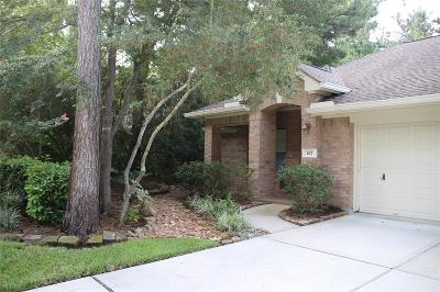 The Woodlands Single Family Home For Sale: 162 N Wynnoak