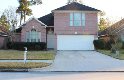 Kingwood Single Family Home For Sale: 408 Mystic Glen Loop