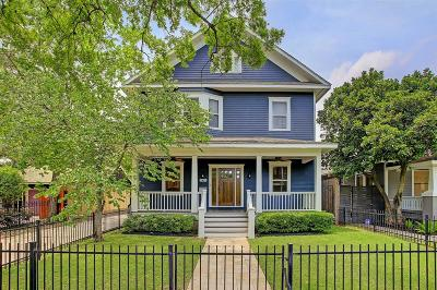 Houston Single Family Home For Sale: 1411 Columbia Street